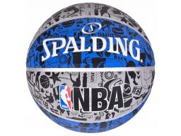 Spalding nba graffiti outdoor piłka do koszykówki