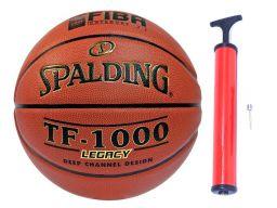 Spalding tf1000 legacy oficjalna piłka plk +pompka