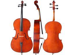 Wiolonczela 4/4 m-tunes no.140 drewniana - uczniow