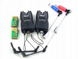 2 sygnalizatory z linią diod + 2 swingery