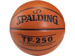 Spalding tf250 5 piłka do koszykówki skóra