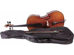 Wiolonczela 4/4 m-tunes no.160 drewniana - lutnik