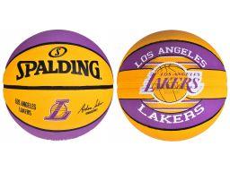 Spalding nba los angeles lakers 5 piłka koszykówki