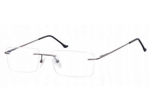 Bezramkowe okulary oprawki okularowe unisex optyk