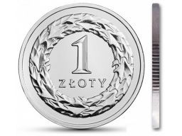 1 zł złoty 2010 mennicza mennicze z woreczka