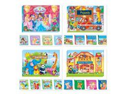 Bajki dla dzieci kolorowe twarde 6 książek 4 różne