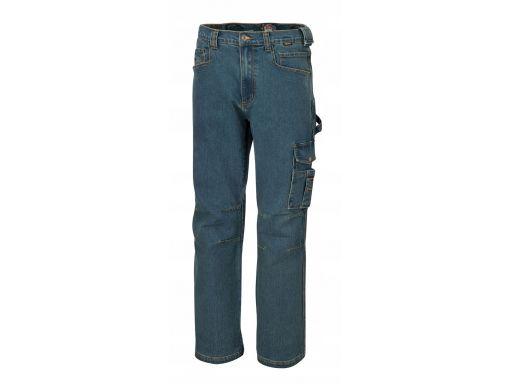Spodnie z dżinsu ze streczem jeansy beta 7525 xxl