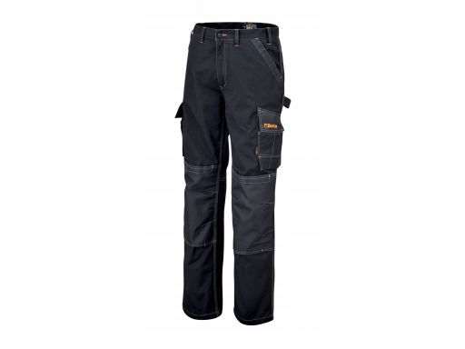 Spodnie robocze z kieszeniami czarne beta 7815nxxl