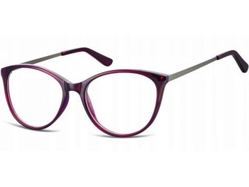 Zerówki okulary oprawki damskie kocie korekcyjne