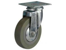 Koło kółka obrotowe fi75 mocowane na płytkę 70kg