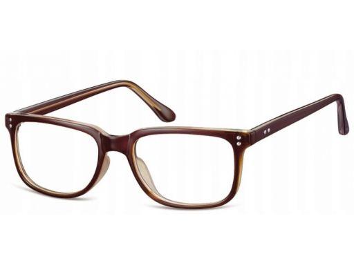 Zerówki okulary oprawki prostokątne korekcyjne