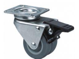 Koło kółka obrotowe wózka fi 50 hamulec 80kg