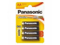 4x1,5v baterie panasonic alkaline power lr6/aa