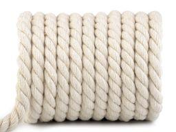 Sznur skręcany bawełniany 15 mm ( rolka ) sznury