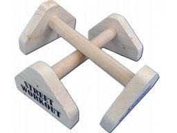 Paraletki uchwyty do pompek poręcze gimnastyczne 3