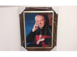 Obraz kardynał wyszyński grawer gratis