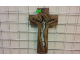 Krzyż płaskorzeźba unikat gratis
