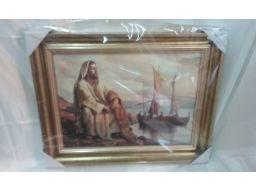 Obraz jezusa chrystusa grawer unikat