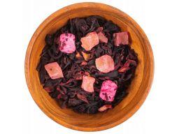 Herbata z hibiskusa ananas porzeczka pianki 50g