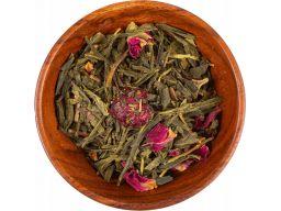 Zielona herbata sakura smak wiśni 100g rozkosz