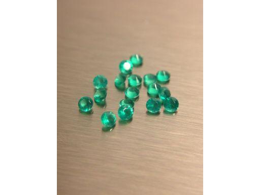 Agat zielony 1,5 mm sztuka