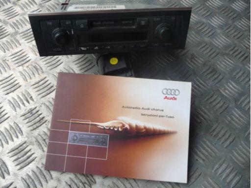 Radio kaseta audi chorus + kod radia audi a4 b6