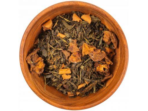 Zielona herbata gruszka karmel goździki 100g
