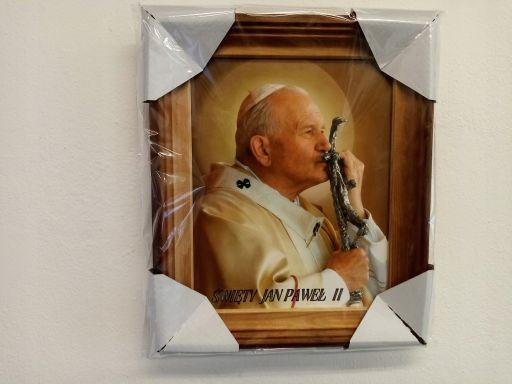 Obraz papież jana pawła ii tanio duży