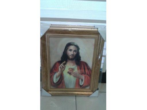 Obraz serce jezusa duży grawer