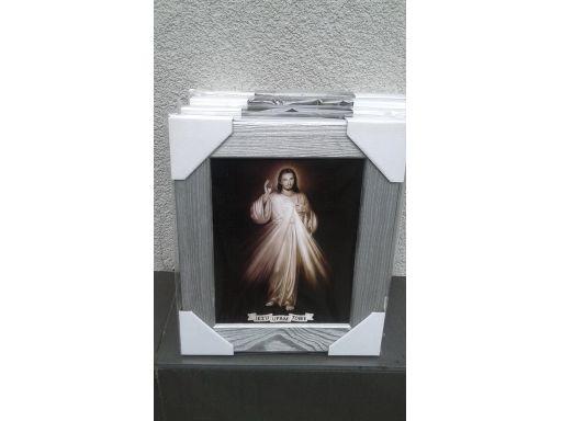 Obraz jezu ufam tobie unikat duży