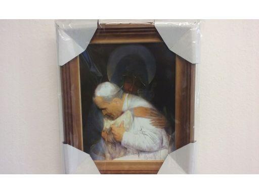 Obraz madonna papież częstochowska unikat