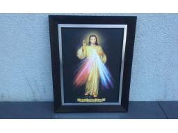 Obraz jezu ufam tobie duży
