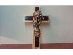 Krzyż wiszący drewno tanio gratis unikat
